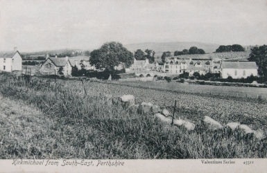 Kirkmichael looking from the South-East.