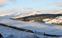 Kirkmichael in the snow